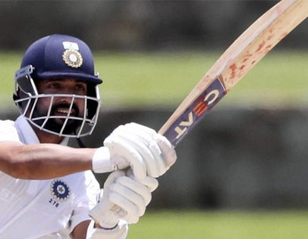 Social Buzz : Ajinkya Rahane Shines as the top order collapses