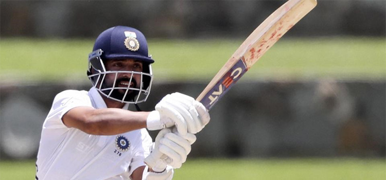 Ajinkya Rahane Shines as the top order collapses