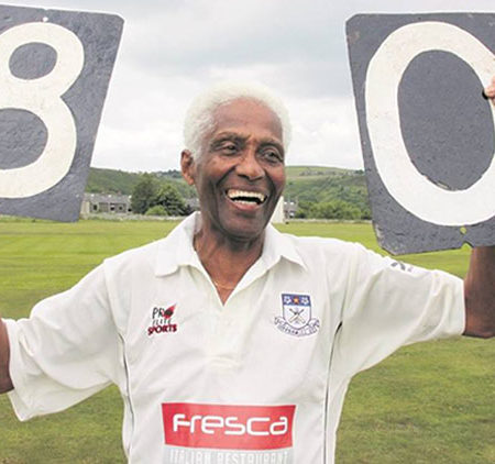 Cecil Wright announces retirement from cricket at the age 85