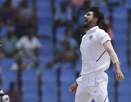 IND vs WI  – Twitter says as Ishant Sharma's magical performance bring smiles in Indian squad
