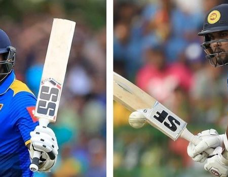 Sri Lanka vs New Zealand: First Test for Angelo Mathews and Dinesh Chandimal