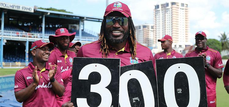 Lara's record finally broken in the Landmark ODI by Chris Gayle