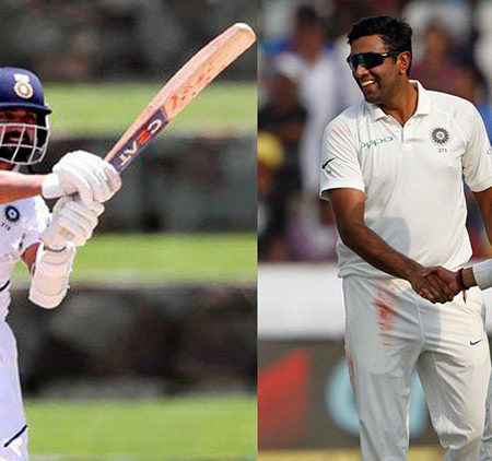 """Coffee?""- Ajinkya Rahane trolled by Indian spin bowler Ravi Ashwin after winning the test series"