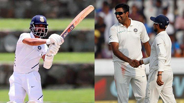 """Coffee?""- Ajinkya Rahane trolled by Indian spin bowler Ravi Ashwin after winning the test series"