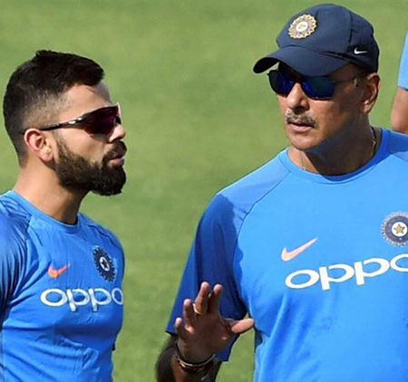 """Utter Nonsense""- Ravi Shastri opens up on Rohit-Virat rift rumours"