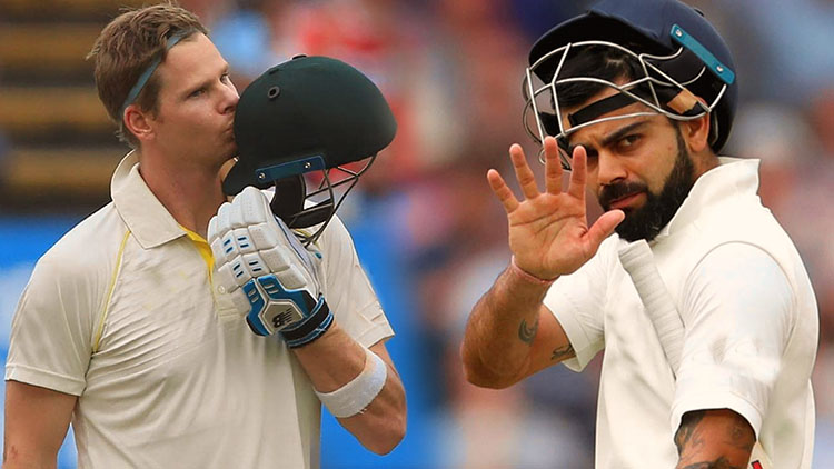 kohli vs smith–Test Cricket- Stats Comparison