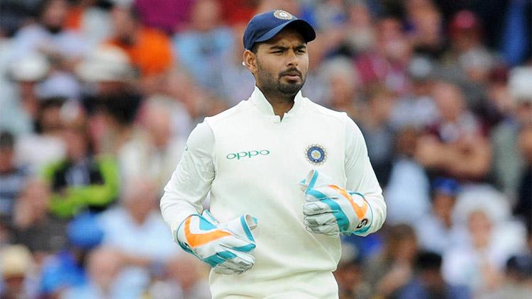 Rishabh Pant achives 50 dismissals milestone