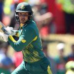 Quinton De Kock to lead RSA against India in T20