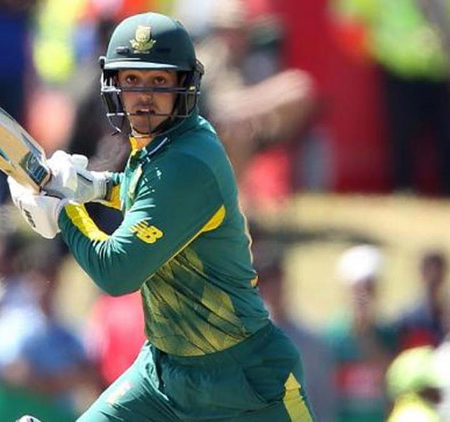 Quinton De Kock will Lead  RSA against India in T20
