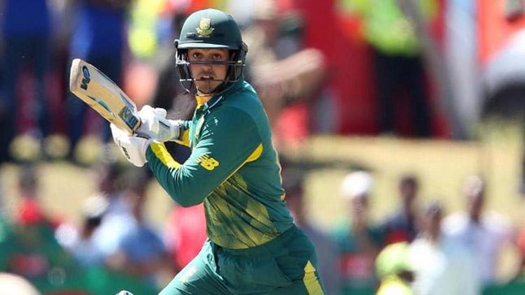 Quinton De Kock will Lead  RSA against India in T20