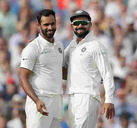Hanuma Vihari reveals, Virat Kohli asked him to hold the trophy and hugged him