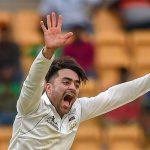 Rashid Khan makes his Test debut as a captain