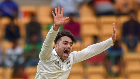 Rashid Khan makes his Test  debut as a captain against Bangladesh