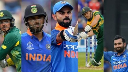 Ind Vs RSA | 5 Key Batsmen Who Can Score Most Runs in this Series