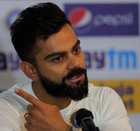 Indian captain Virat Kohli proposes changes in the World Test Championship point system