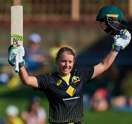 Alyssa Healy's historic ton helped Australia over the line against Sri Lanka