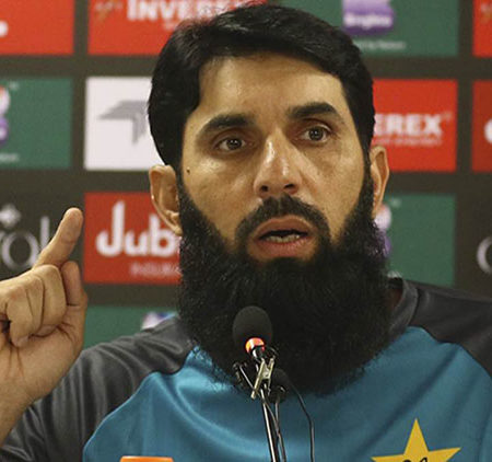 Misbah-ul-Haq: Pakistan should quit leaning on Babar Azam