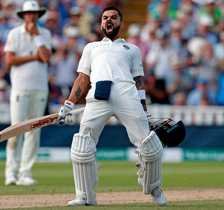 Virat Kohli moves up in ranking, Mayank and R Ashwin follow the lead