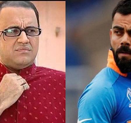 Taarak Mehta Ka Ooltah Chashmah's makers trolled Virat Kohli