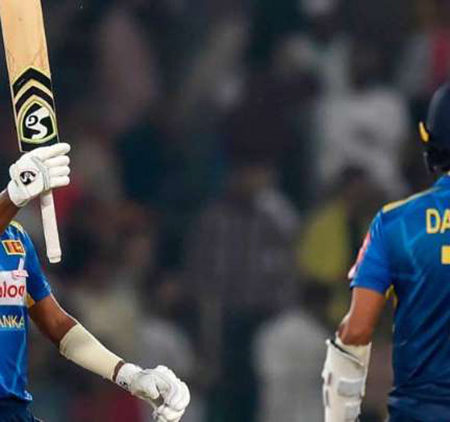 Oshada Shines on his debut as Sri Lanka whitewash Pakistan