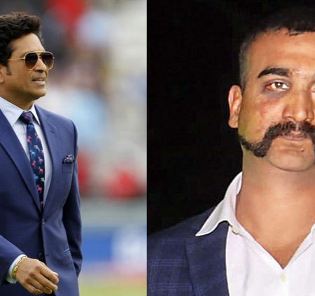 Sachin said that he felt Goosebumps after watching Abhinandan flying MiG-21