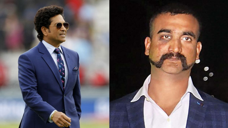 Sachin shares his feelings after watching Abhinandan flying MiG-21