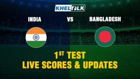 India vs Bangladesh 1st Test – Live Score, Commentary & Stats