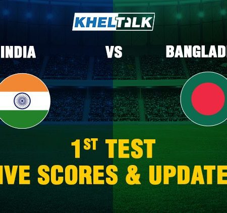 India vs Bangladesh 1st Test – Live Score, Commentary & Stats