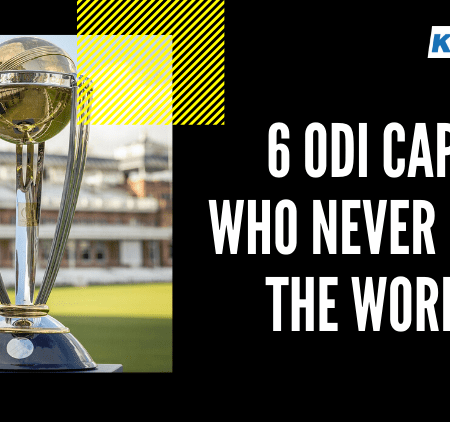 World Cup Trophy: 6 Captains Who Never Lifted it