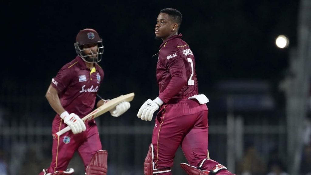 Hetmyer and Hope help WI take 1-0 lead - India Vs West Indies