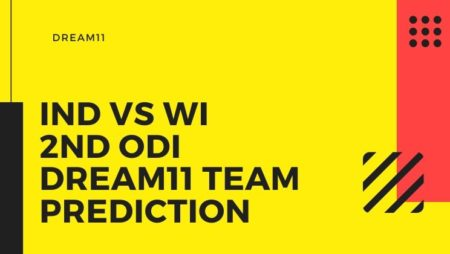 India vs West Indies  2nd ODI – Dream11 team prediction