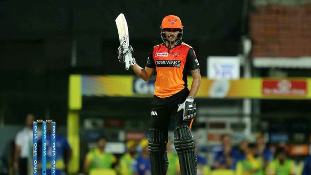 manish Pandey IPL