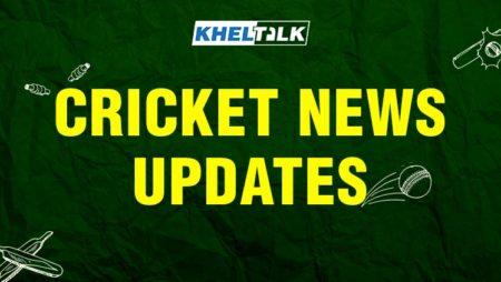 Kheltalk Cricket News Update – 21 Jan 2020