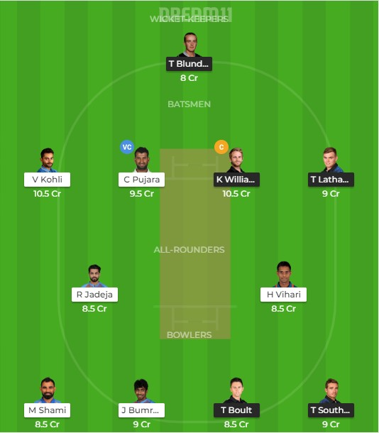 Team 3 –  dream 11 prediction for today match