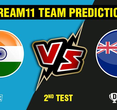 India vs New Zealand 2nd Test dream 11 predictions | Dream11 tips
