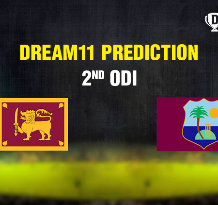 Sri Lanka vs West Indies 2nd ODI today match prediction | Dream11 team
