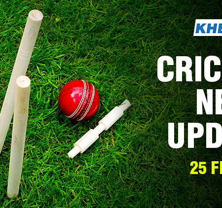 Cricket News Update – 25 Feb 2020