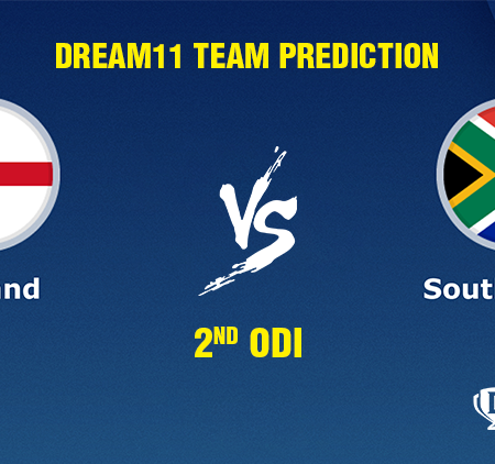 England vs South Africa 2nd ODI Dream11 Team prediction   Match prediction