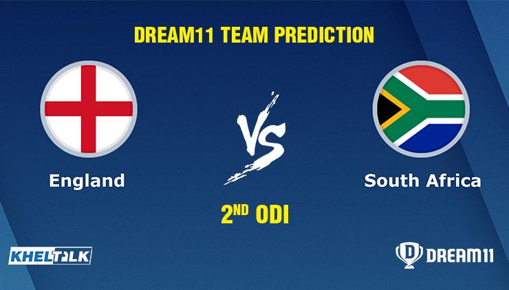 England vs South Africa 2nd ODI Dream11 Team prediction | Match prediction