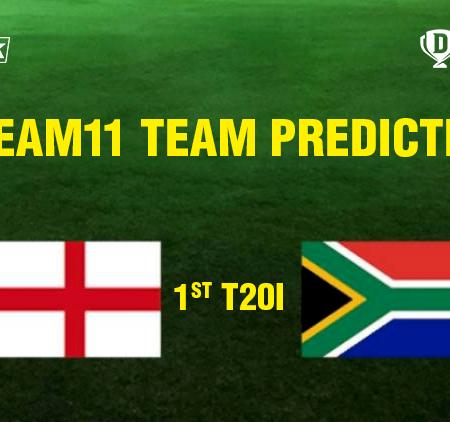 England vs South Africa 1st T20I Dream11 Team prediction   Match prediction