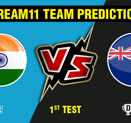 India vs New Zealand 1st Test Dream11 Team prediction | Match prediction