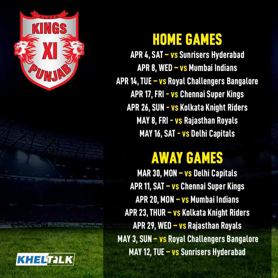 IPL 2020 Schedule – Timings, Venues, Fixtures & everything you need to Know!