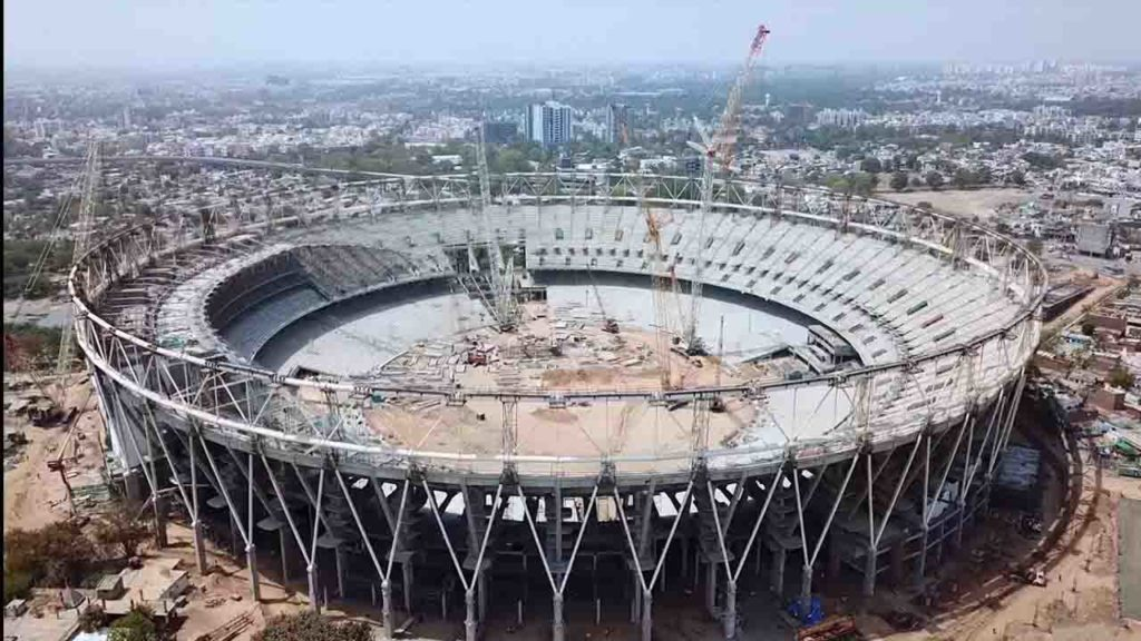 Motera Stadium Construction -KhelTalk Overview