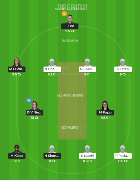 Team 1 – Dream11 team prediction today