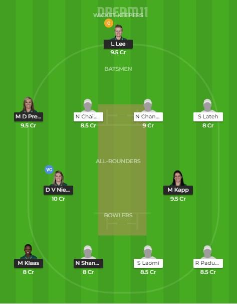Team 1 – Dream11 team prediction today
