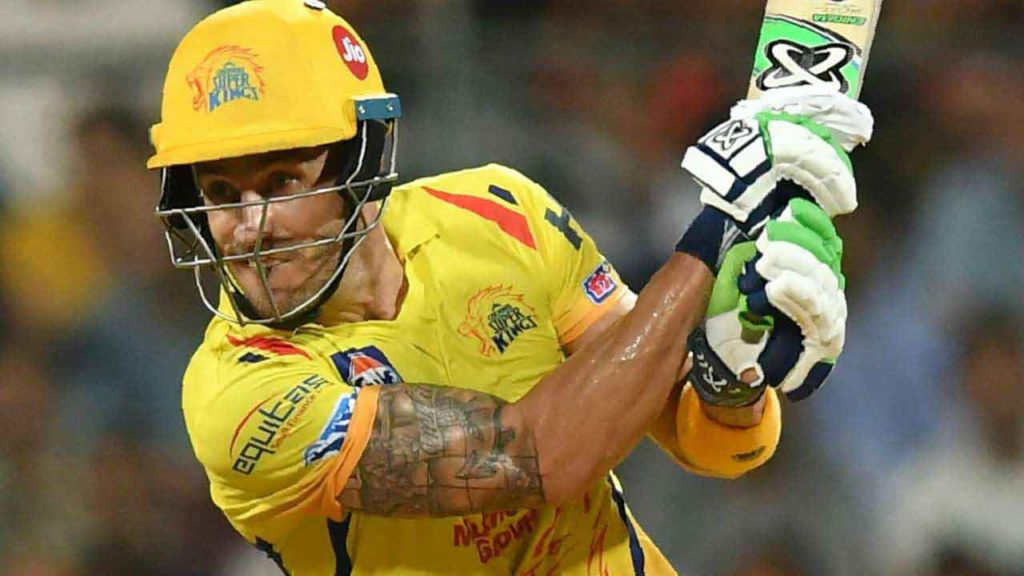 CSK's Faf du Plessis took the highest number of catches (12) in the Tournament.