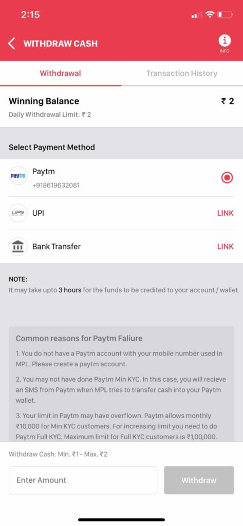 Mobile Premier League (MPL) Review: How to withdraw your winnings from MPL?