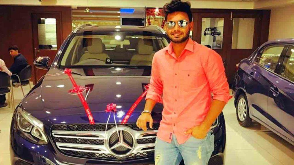 Rishabh Pant's Car