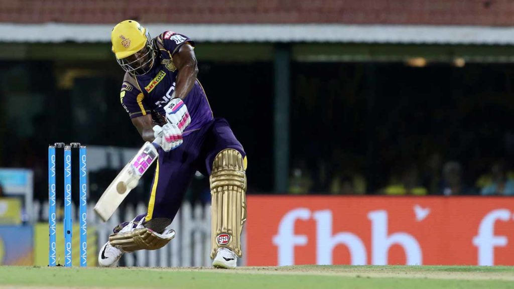 Kolkata Knight Riders' (KKR) Andre Russell has the distinction of hitting most sixes during IPL 2019 – 52.