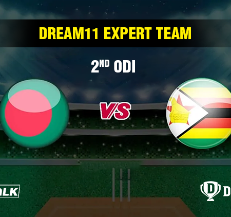 BAN vs ZIM 2nd ODI Dream11 expert team | Dream11 tips